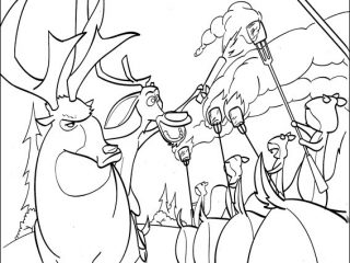 320x240 Open Season Coloring Pages Open Season Coloring Pages On Coloring