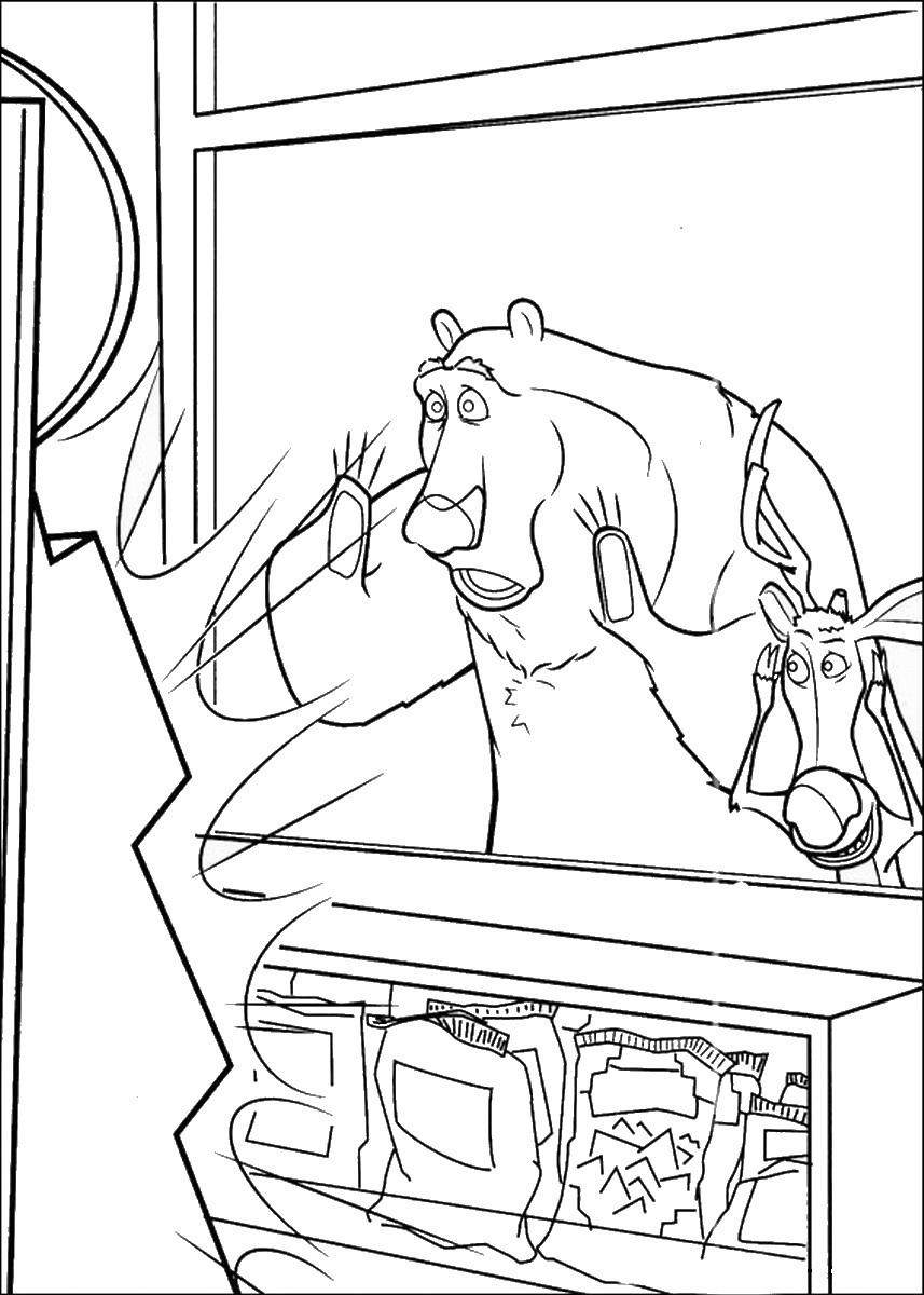 857x1200 Open Season Coloring Pages