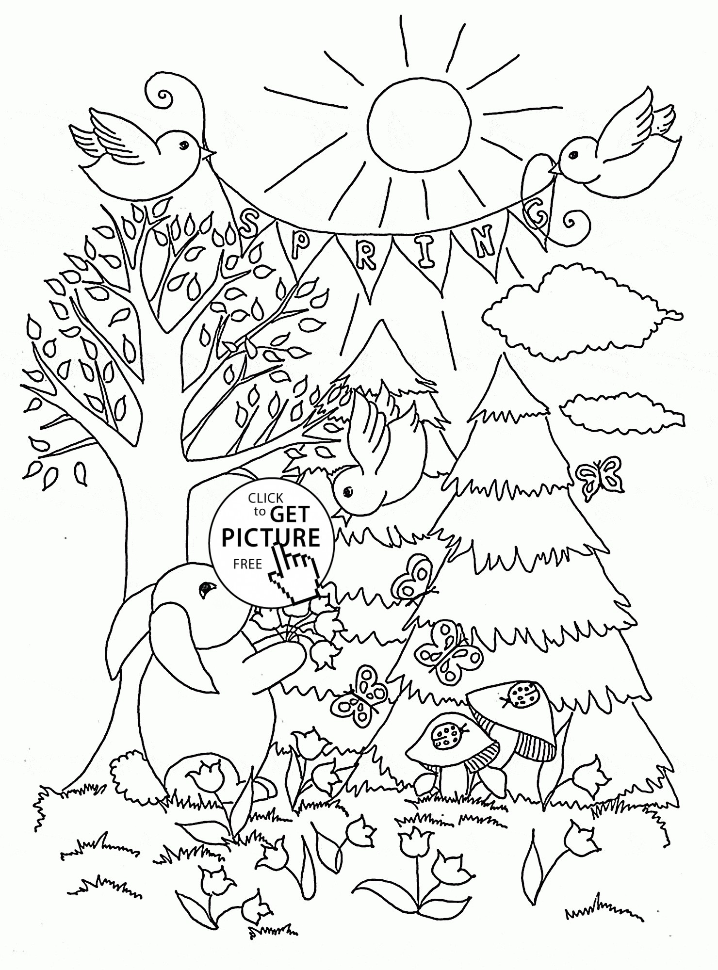 1480x2000 Lovely Open Season In Forest Coloring Pages For Kids Elegant Adult