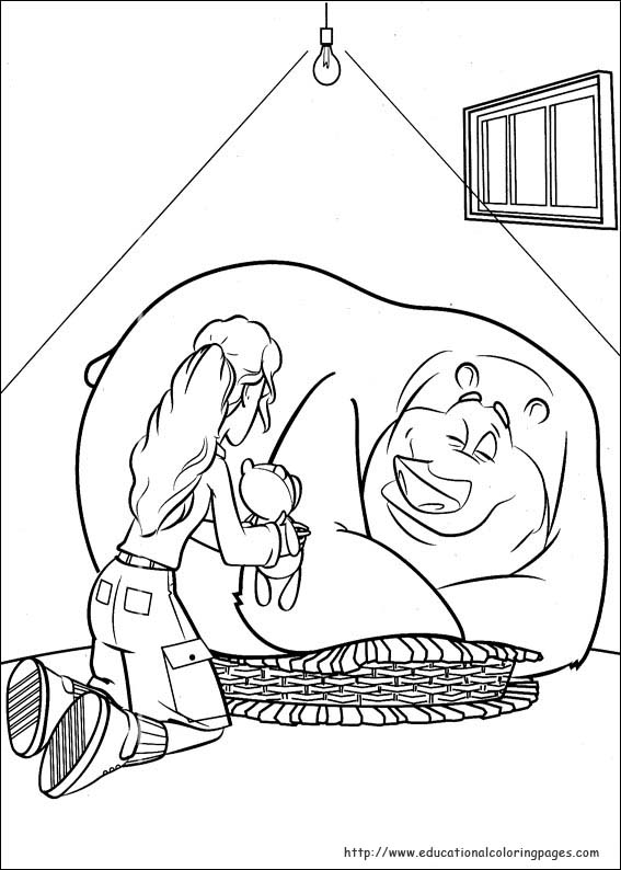 567x794 Open Season Coloring Pages