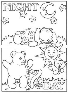 Opposites Coloring Pages at GetDrawings com | Free for