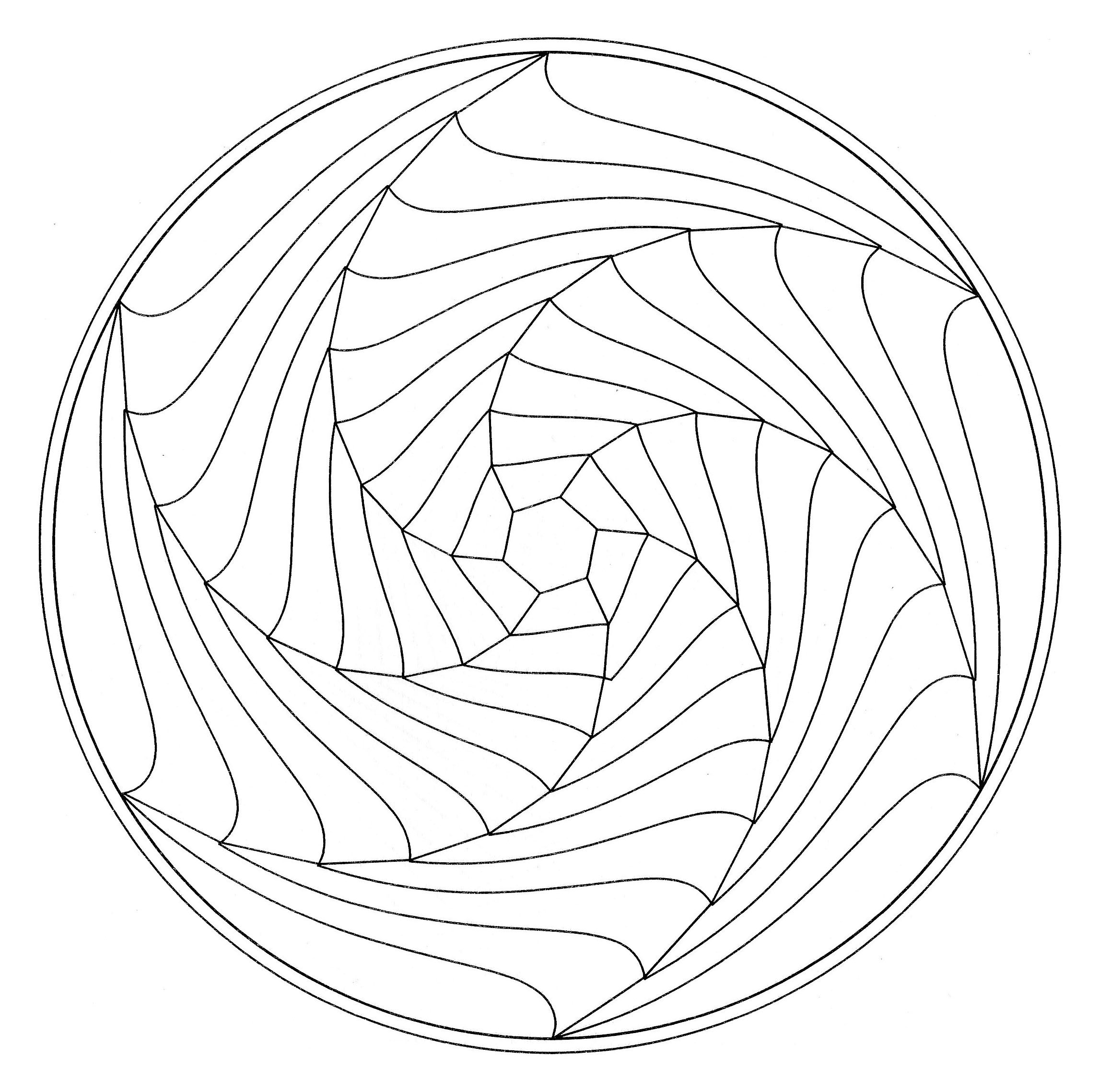 2296x2277 Illusion Coloring Pages Optical Illusion Coloring Pages Pdf Free