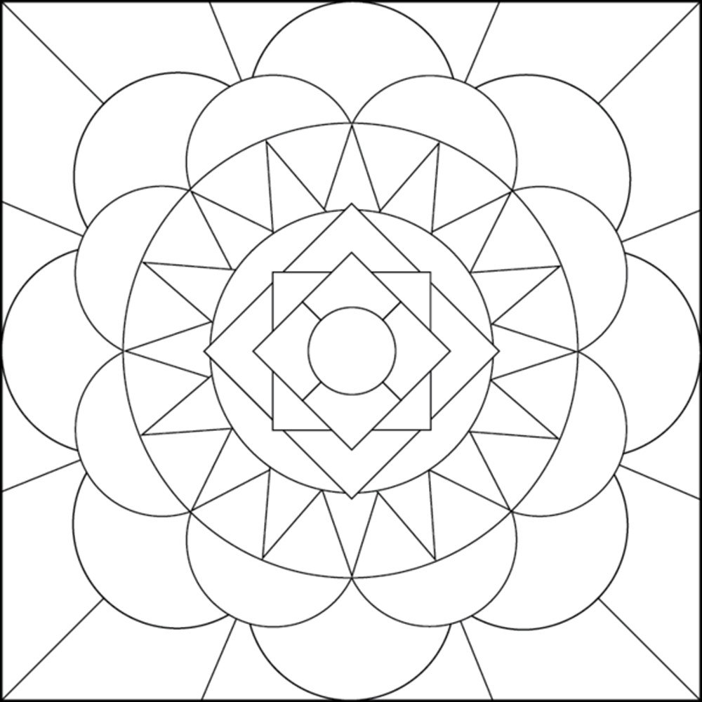 1000x1000 Best Of Optical Illusion Coloring Pages Free Coloring Page