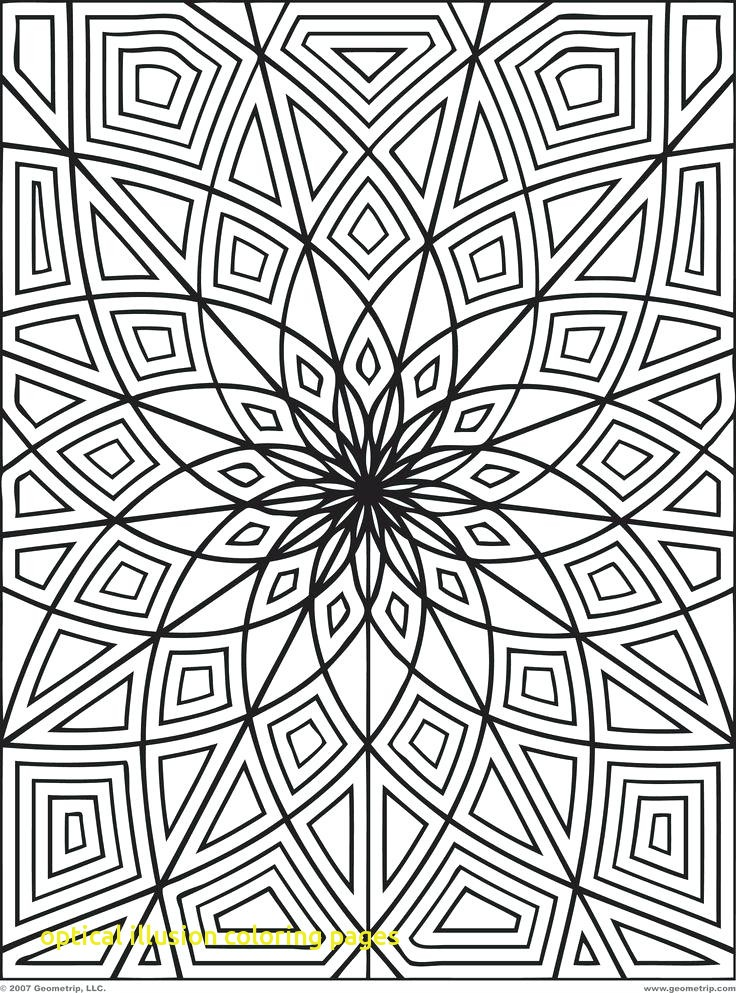736x993 Optical Illusion Coloring Pages With Free Coloring Page Printables