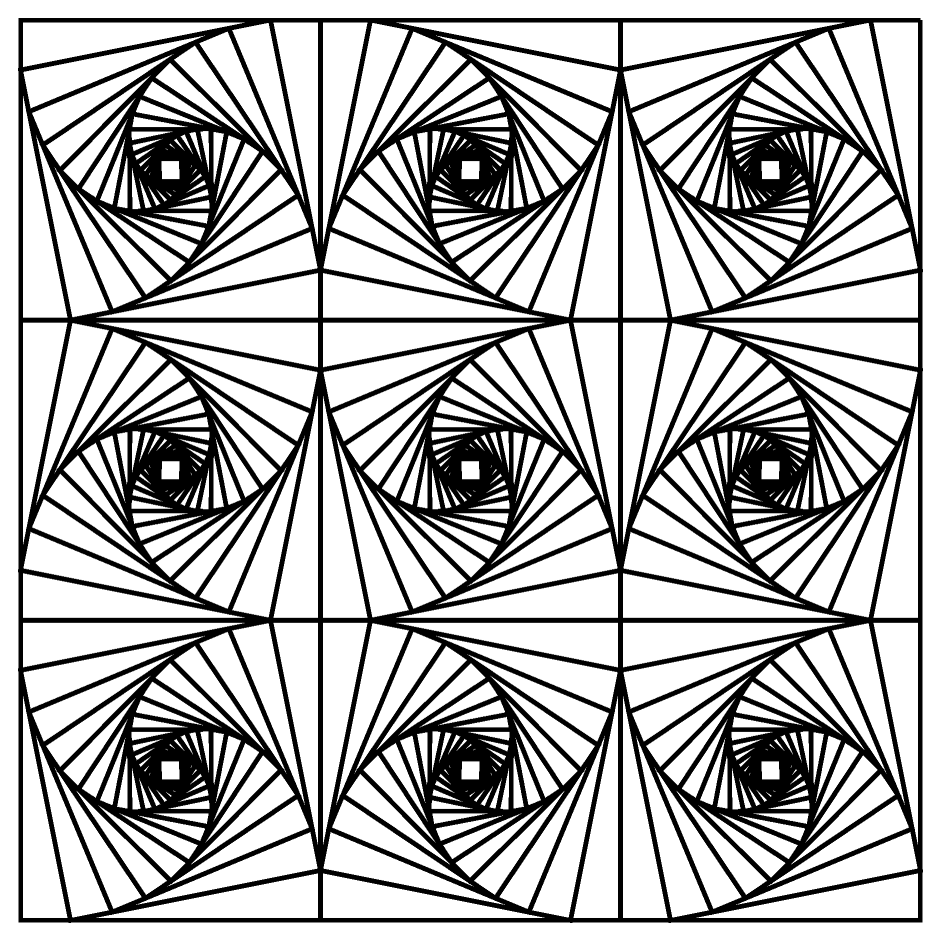 941x941 Coloring Pages Coloring Pages Geometric Free Images Coloring