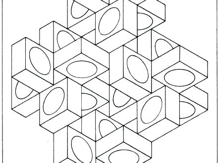440x330 Coloring Pages Optical Illusions Coloring Pages Optical Illusions