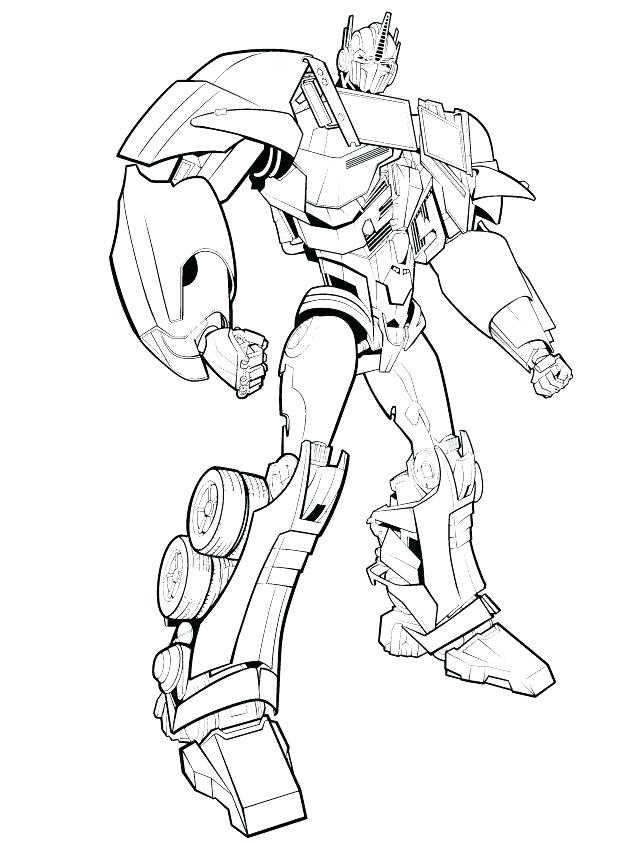 optimus prime coloring page at getdrawings free