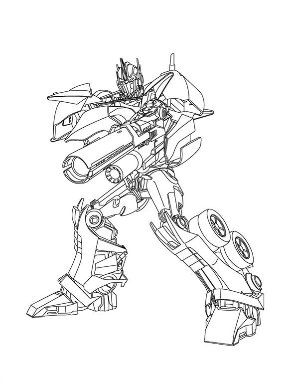 Optimus Prime Coloring Page at GetDrawings.com | Free for ...
