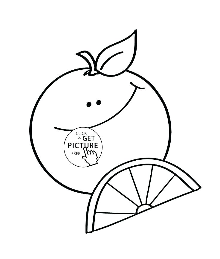 736x866 Orange Coloring Pictures Coloring Orange Blossom Coloring Page