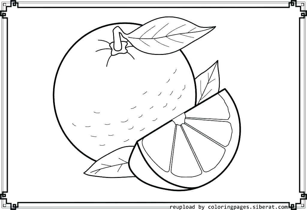 1024x700 Annoying Orange Coloring Pages Orange Coloring Page Orange