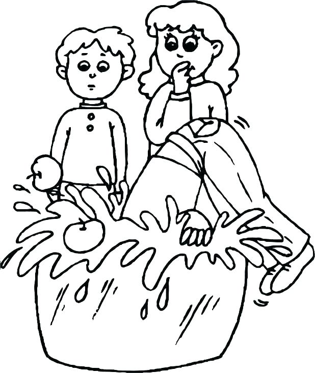 618x731 Apple Picking Coloring Pages Apples Coloring Pages Apple Tree
