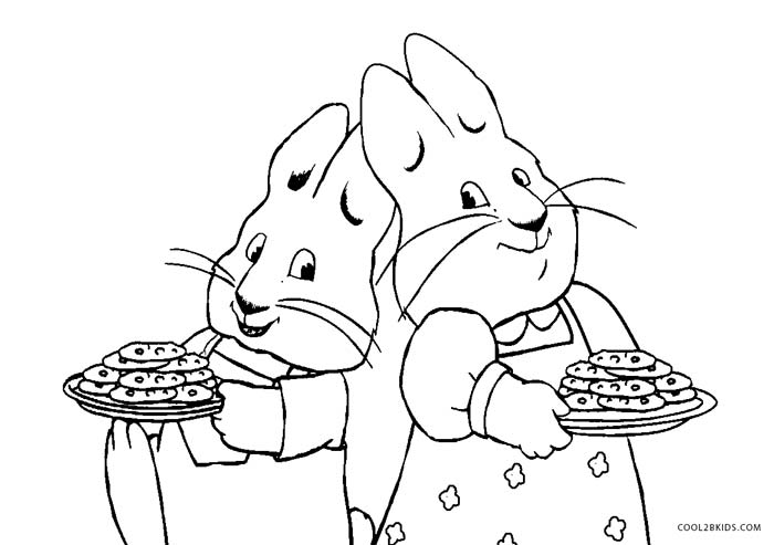 700x493 Free Printable Max And Ruby Coloring Pages For Kids