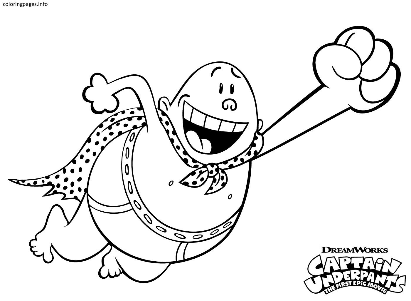 1400x1024 New Captain Underpants Coloring Pages Collection Printable