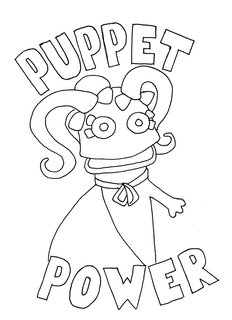 741x1024 Wump Mucket Puppets Free Coloring Pages