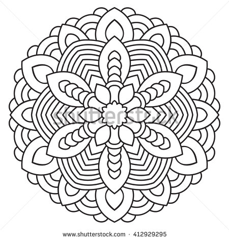 The Best Free Circular Coloring Page Images Download From 13 Free