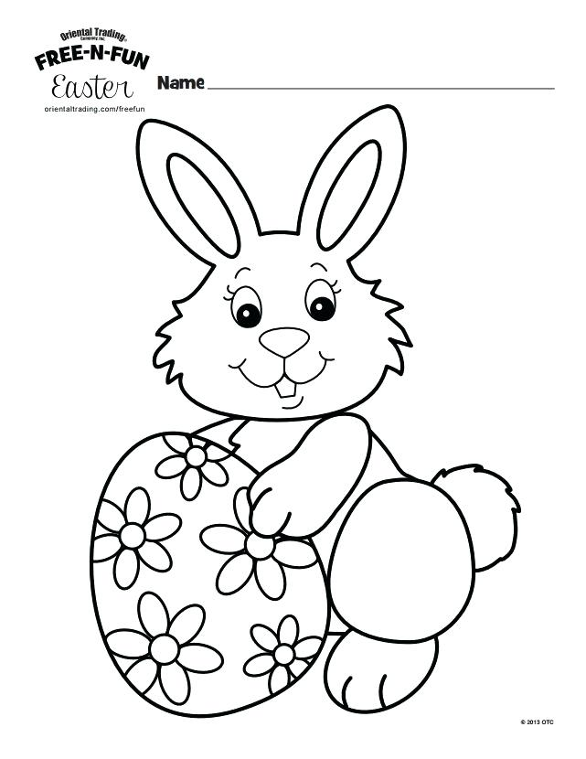 641x830 Free Bunny Coloring Pages At N Fun Printable Oriental Trading