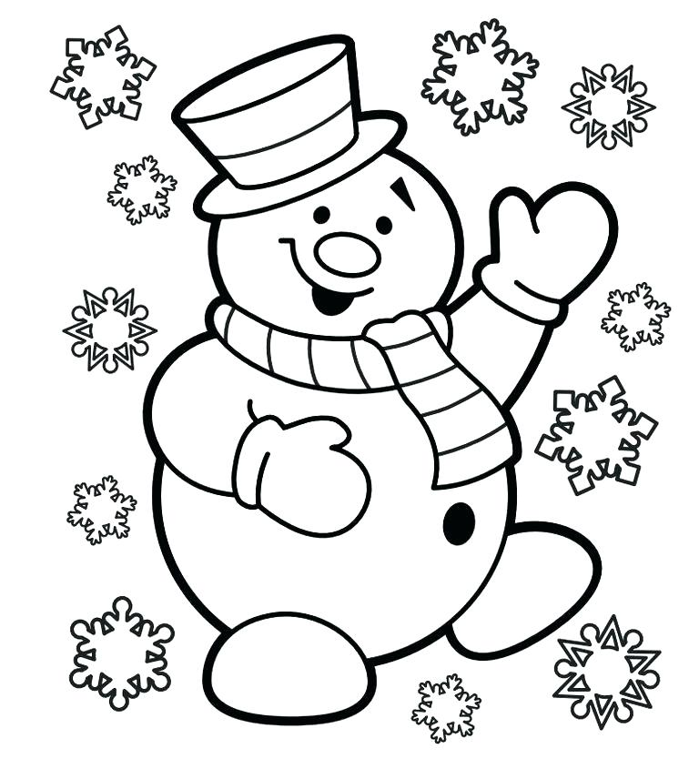 768x845 Free Printable Christmas Coloring Pages Print Free And Fun