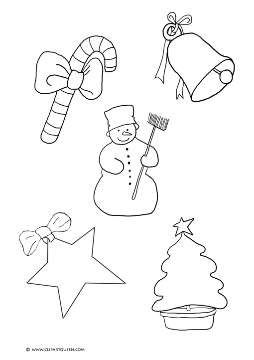 510x722 Small Christmas Coloring Pages To Print