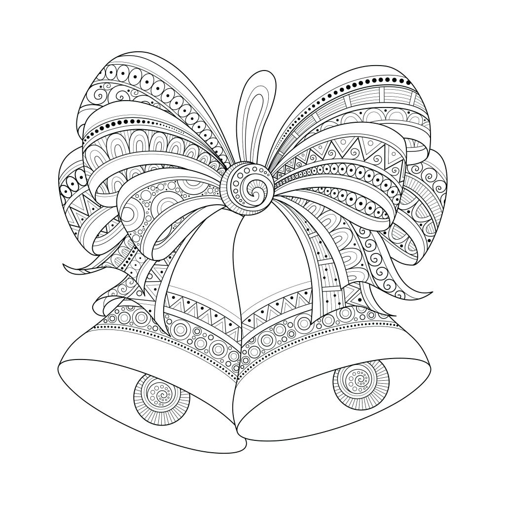 1024x1024 Coloring Pages Free Christmas Coloring Pages Merry Printable