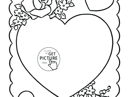 440x330 Free Valentine Coloring Pages Valentine Coloring Free Valentine