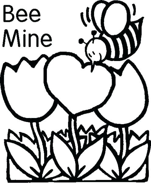 496x600 Free Valentine Coloring Pages Valentine Coloring Page Be My Free