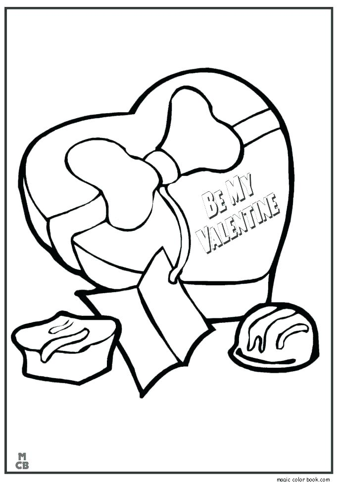 685x975 Free Valentines Coloring Pages Hello Kitty Valentine Coloring