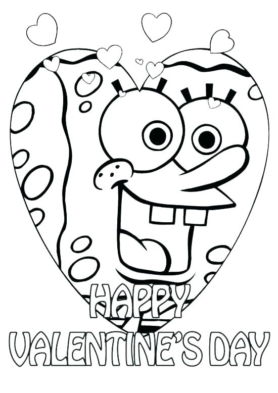 550x778 Valentines Coloring Pages Free Preschool Valentine Coloring Pages