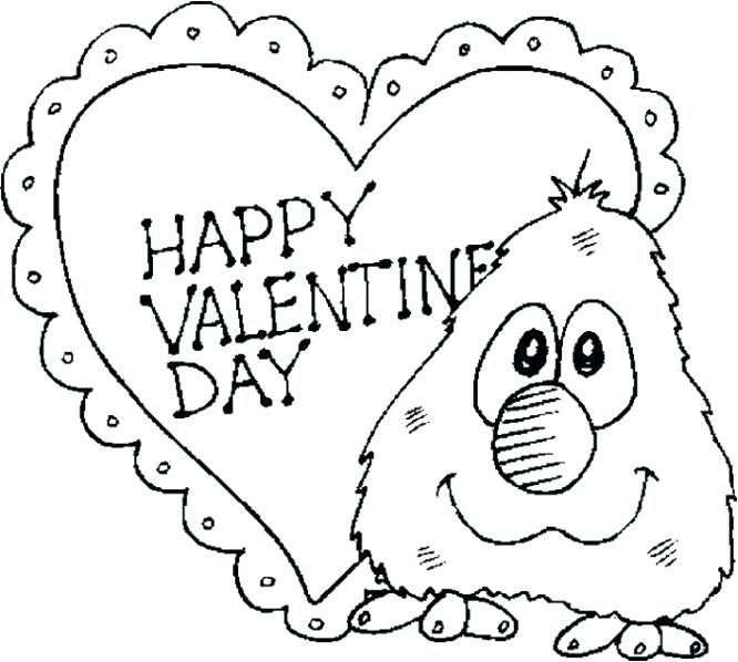 666x598 Coloring Pages Valentines Valentines Day Coloring Cards Printable