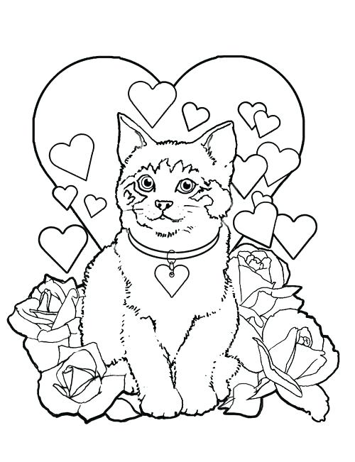500x651 Cool Valentine Free Coloring Pages Kids Coloring Pages Cool