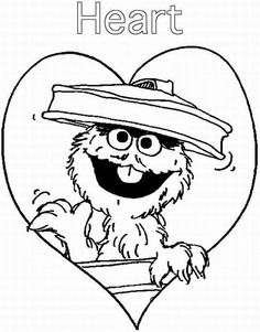 236x301 Help Elmo Finish His Garden With On This Fun Colouring Sheet! C