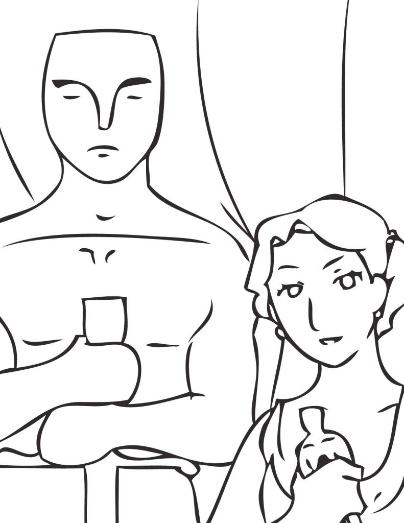 791x1024 Oscar Coloring Pages