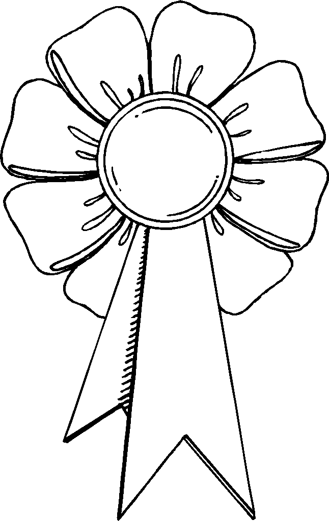 646x1024 Trophy Coloring Page