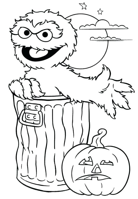 533x765 Astonishing Oscar The Grouch Coloring Page Drawing Of Grouch Yahoo