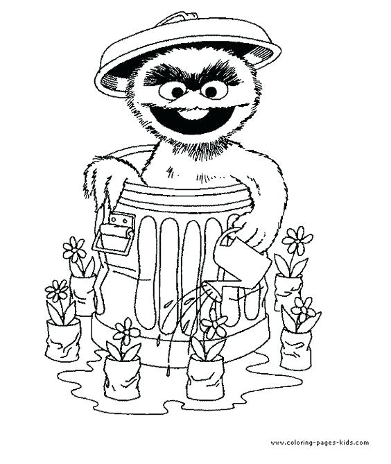 564x669 Oscar The Grouch Coloring Pages Alphabet And Colouring Coloring
