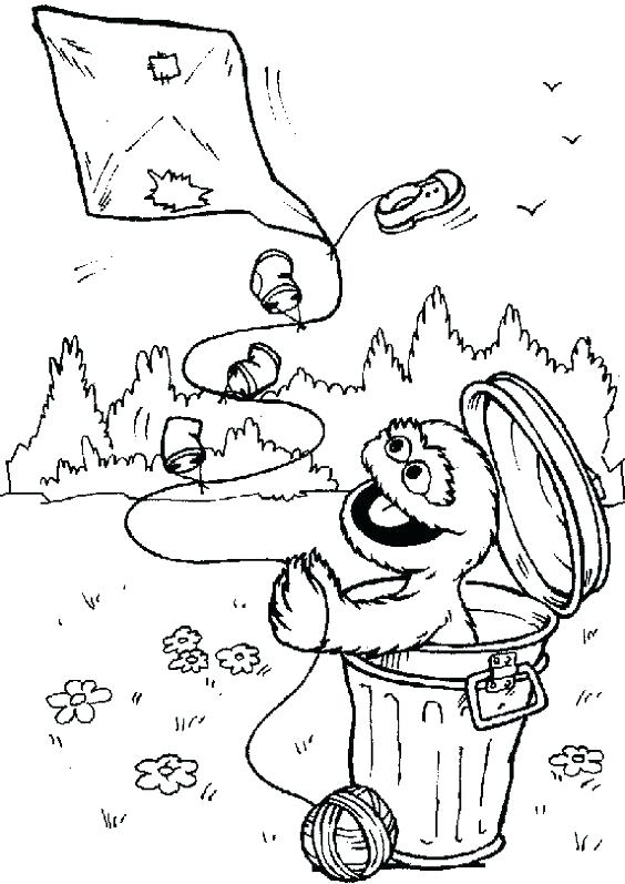 564x797 Oscar The Grouch Coloring Page The Grouch Face Coloring Pages