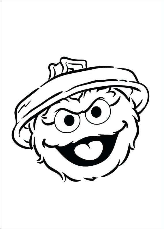 569x796 Oscar The Grouch Coloring Pages Page Pictures Coloring Collection