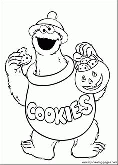 236x330 Oscar The Grouch Coloring Pages Free