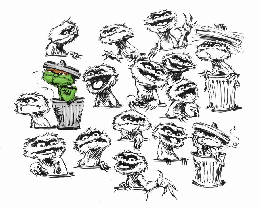 900x724 Trash Clipart Oscar The Grouch