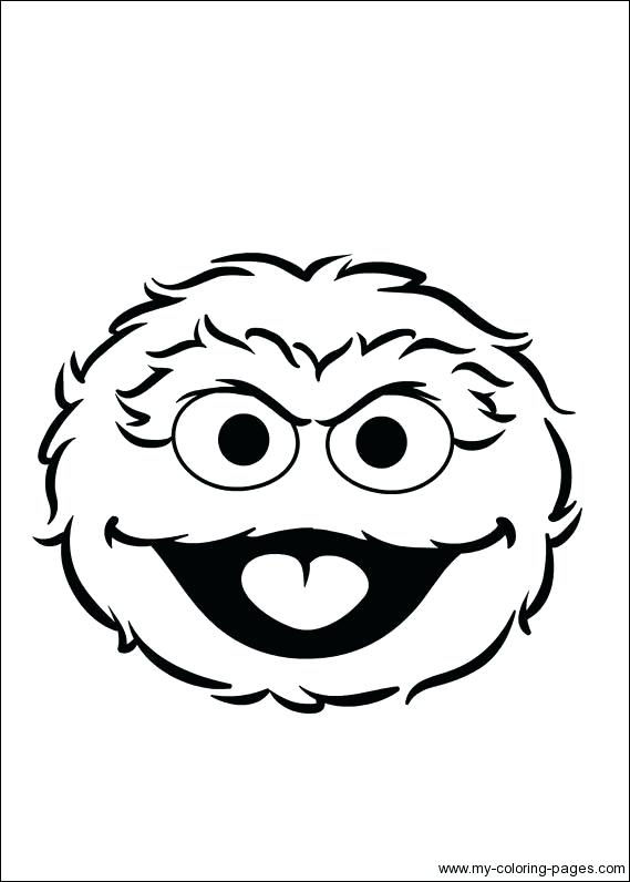 569x796 Incredible Marvelous Oscar The Grouch Coloring Pages Print Best