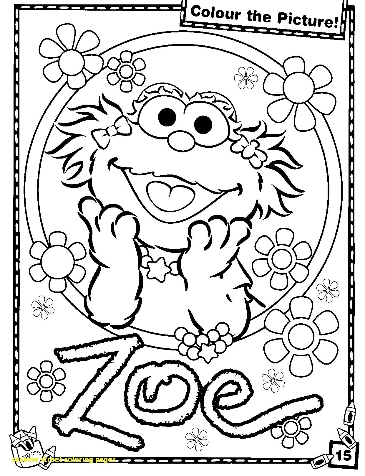 1240x1615 Coloring Book Sesame Street Pages With Superb Zoe Elmo