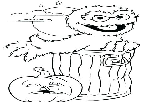 476x333 Oscar Coloring Pages What Color Is The Grouch Info For Coloring