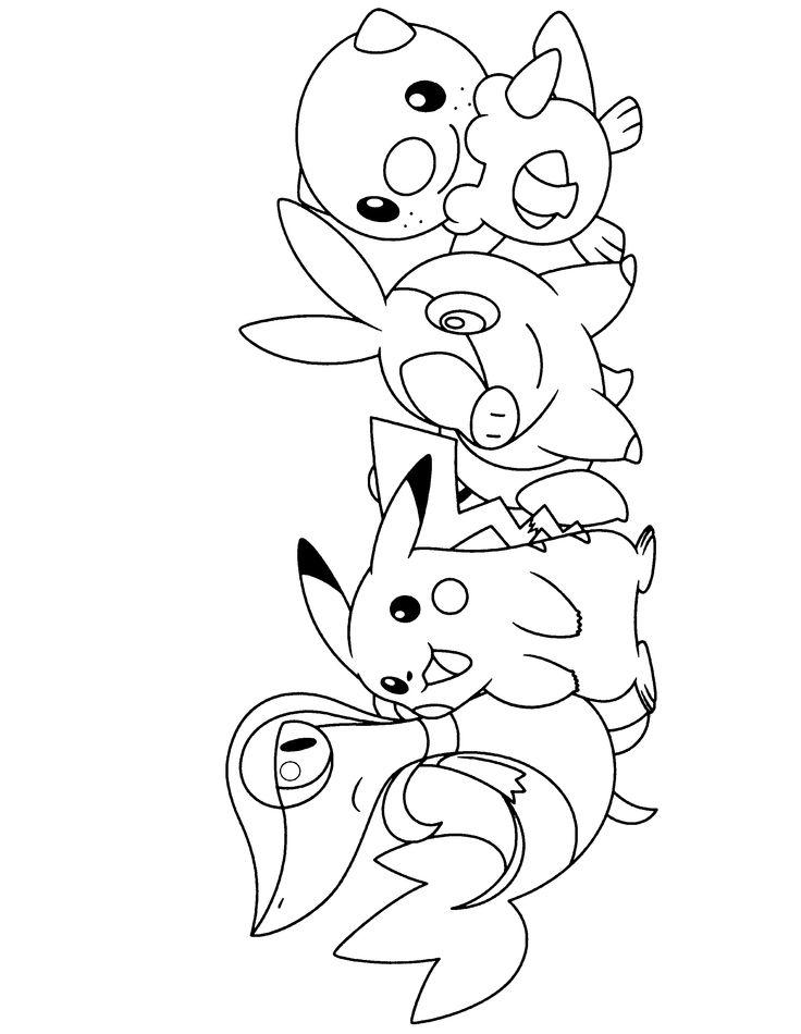 Oshawott Pokemon Coloring Pages