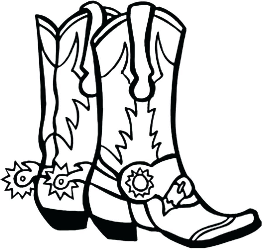 903x857 Cowboys Coloring Pages Cowboy Boot Clip Art Cowboys Coloring Pages