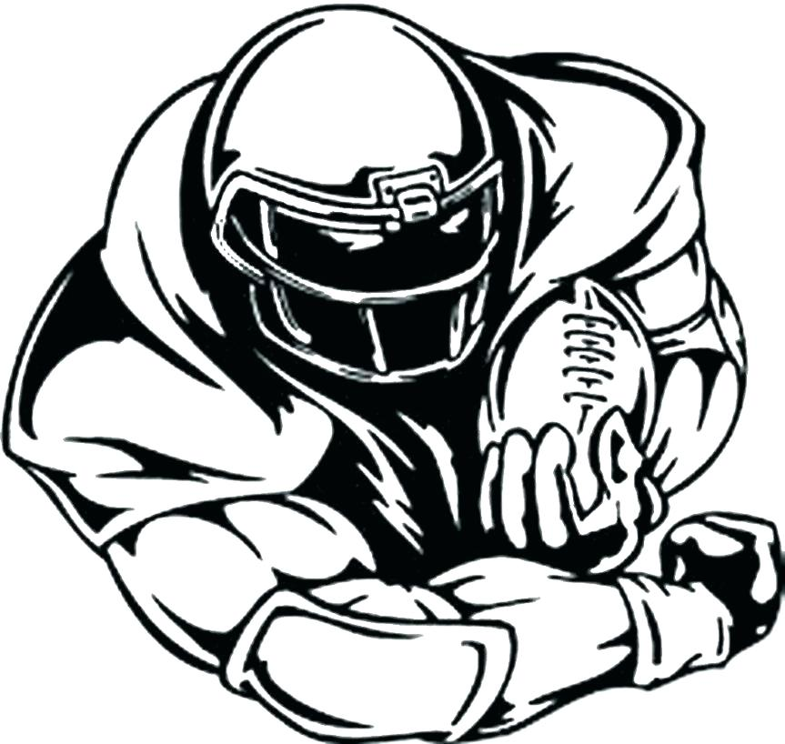 863x818 Printable Football Coloring Pages Football Coloring Pages