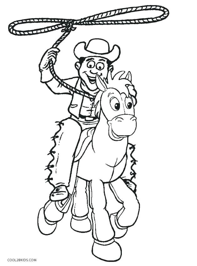 629x850 Cowboys Coloring Pages Cowboy Coloring Page Cowboy Coloring Pages