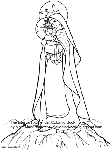 370x507 Snowflake Clockwork Other Coloring Pages