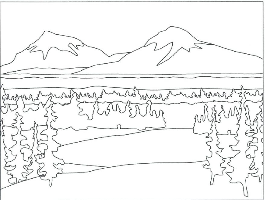 878x662 Outdoor Coloring Pages Fascinating Outdoor Scene Coloring Pages
