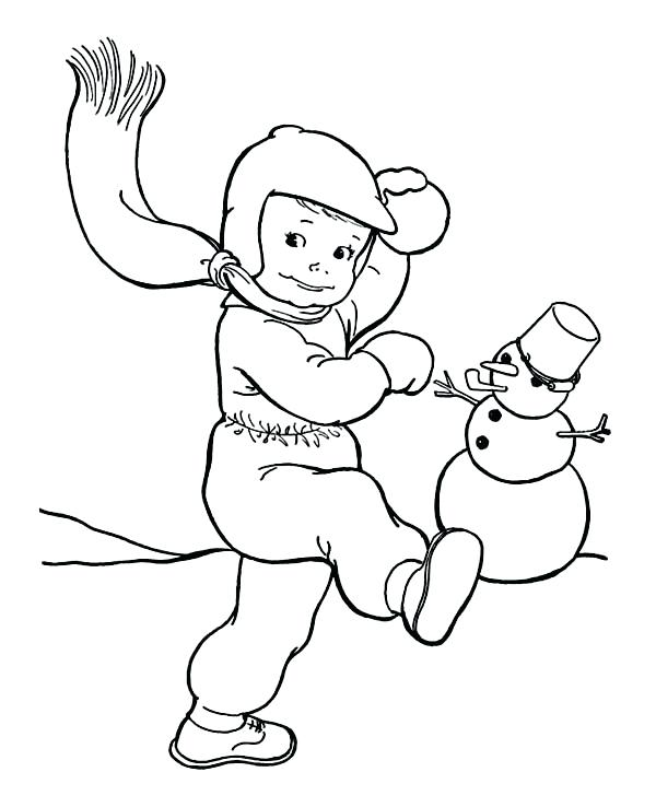 600x738 Outdoor Fun Coloring Pages The Pig And Great Outdoors Page