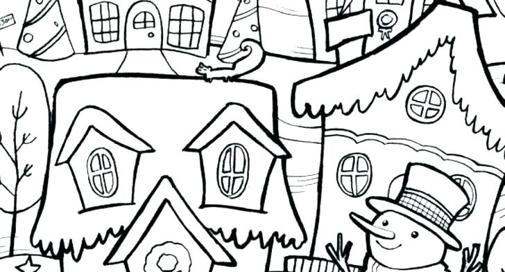 728x393 Outdoor Coloring Pages