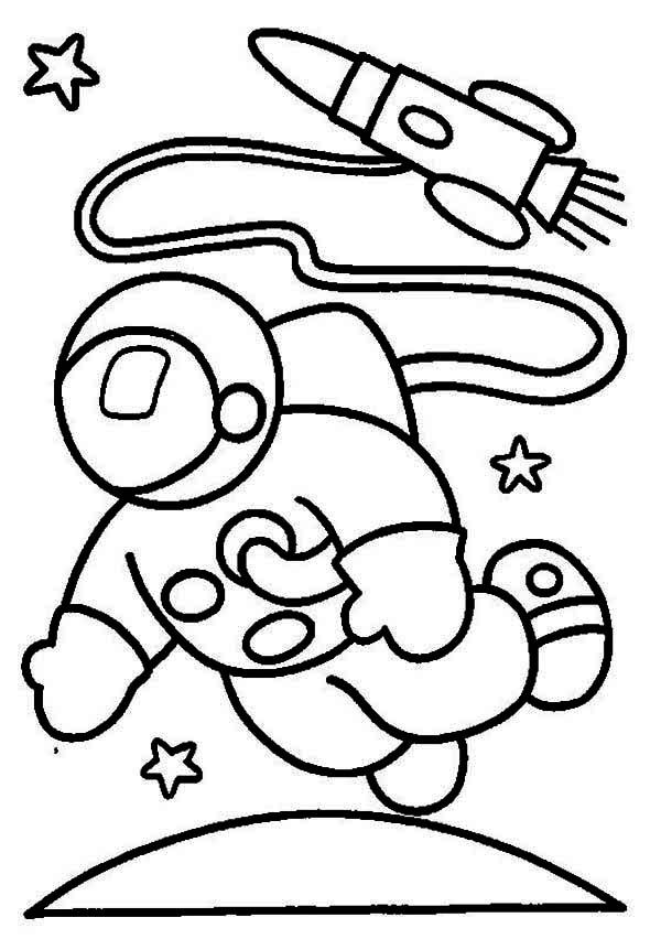 600x852 Astronaut Coloring Page Coloring Pages For Free